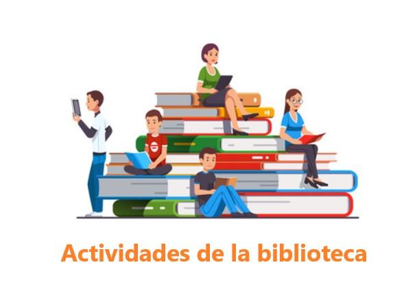 actividades de la biblioteca