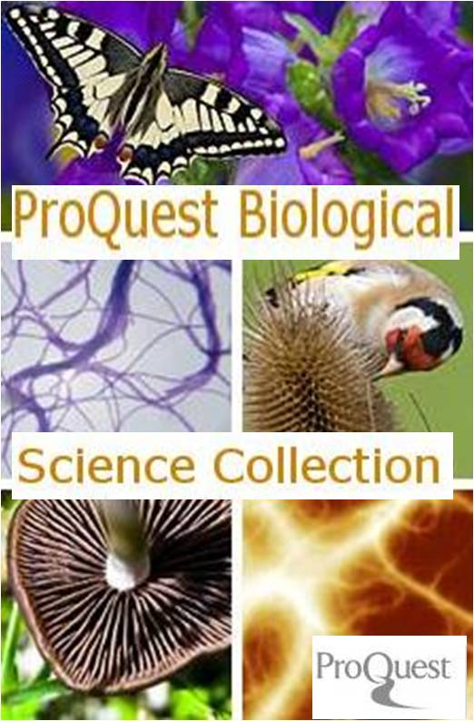 Proquest Biological Science Collection