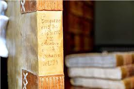 Biblioteca de la Academia. Ejemplar de su fondo antiguo