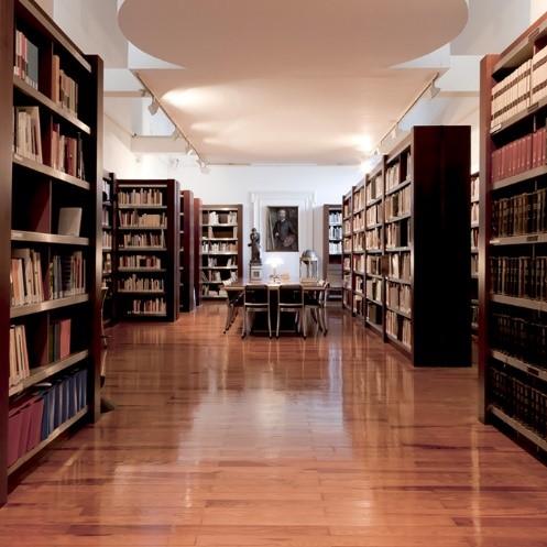 Biblioteca de la Academia. Sala de lectura