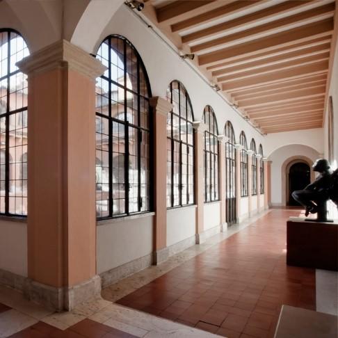 Claustro de la Academia de España en Roma