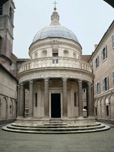 Tempietto de Bramante. San Pietro in Montorio