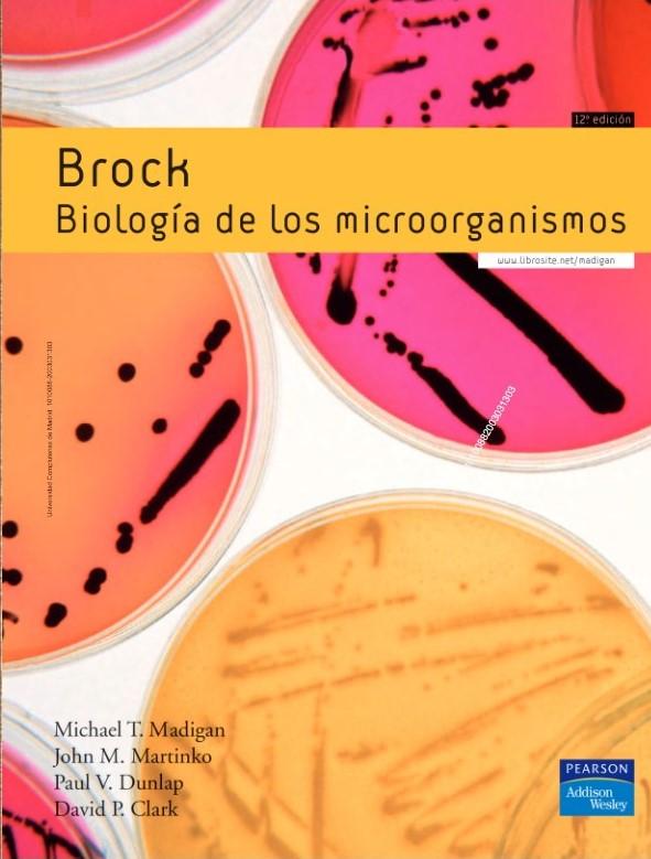 Brock. Biología de los microorganismos. 12ª ed. 2009