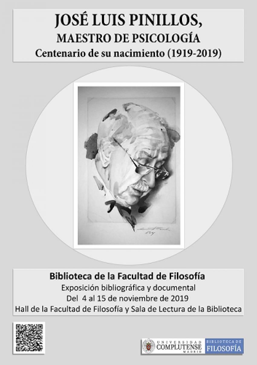 José Luis Pinillos, maestro de psicología. Centenario de su nacimiento (1919-2019).