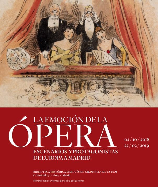 La emoción de la ópera / Guía de exposición