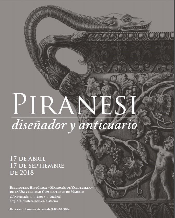 Piranesi, diseñador y anticuario / Guía de la exposición
